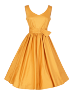 orange womens dress closeouts