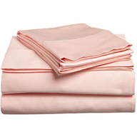 pink egyptian cotton bed sheets pallets