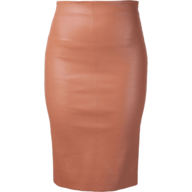discount pink latex skirt