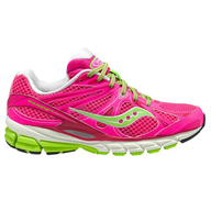 liquidation pink lime green sneakers