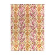 bulk pink orange square rug