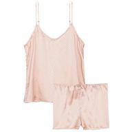 closeout pink polka dots pajama set