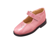 closeout pink used children's shoes