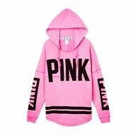 pink vs sweater shelf pulls