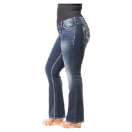 plus size jeans shelf pulls