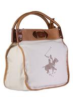 polo club white brown handbag truckloads