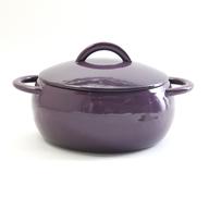 overstock purple ceramic pot