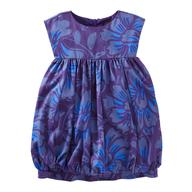 discount purple girls top
