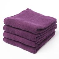 purple hand towel in bulk