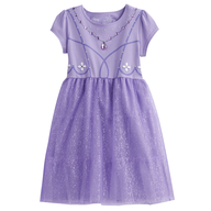 purple kids dress in bulk