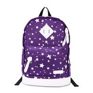 bulk purple white back pack