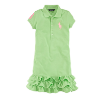 liquidation ralph lauren green dress
