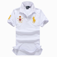 ralph lauren mens white gold polo shelf pulls