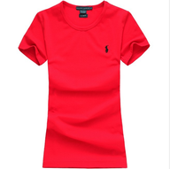 surplus ralph lauren polo women round neck red t shirt