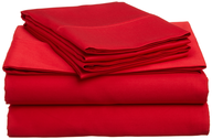 wholesale red bed sheets