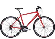 closeout red bike