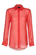 surplus red blouse