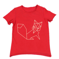 red childrens tee in bulk