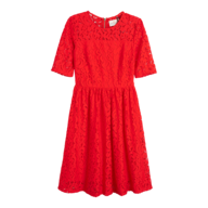 discount red floral dress