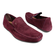 discount red mens loafers