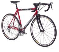 red mountain bike in bulk