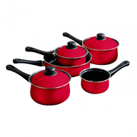 closeout red pans