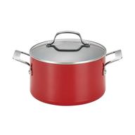 discount red pot cookware