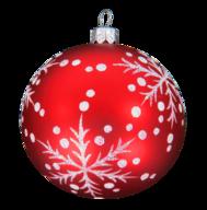 liquidation red white christmas ball