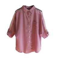 liquidation rue21 pink blouse womens