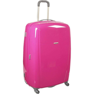 discount samsonite brightlites pink luggage