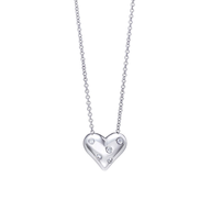 silver heart necklace suppliers