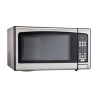discount silver microwave