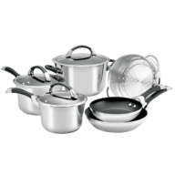 salvage silver pots and pans