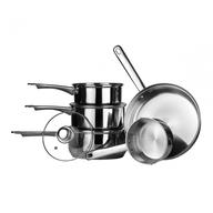 discount silver pots pans