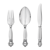 silver silverware in bulk