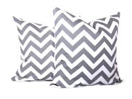 liquidation silver white pillow sets