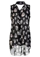 clearance skull tshirt