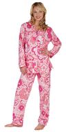 bulk sleepwear pink flowers