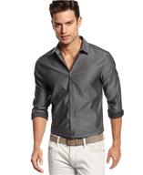 overstock slim fit long sleeve lannister shirt