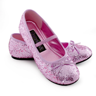discount sparkle ballerina child shoes pink