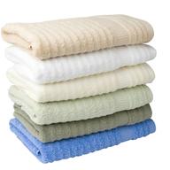 stack of towels shelf pulls