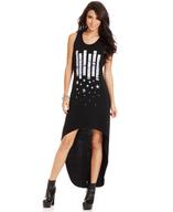 stars high low maxi dress deals