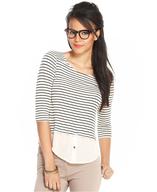 striped shirt pallets