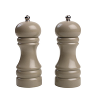 closeout taupe salt and pepper mill
