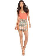 overstock tribal print skirt