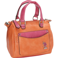 us polo orange pink bag lots