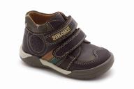 salvage used boys brown shoe
