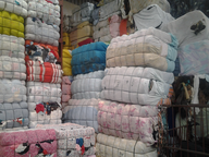 closeout used clothing packed bails