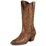 liquidation used cow boy boots brown