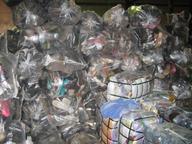 bulk used footwear in sacks